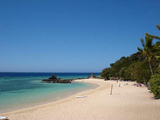 Beach at Castaway Island
